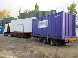 2 20ft Containers On The Back Of A Hiab Vehicle | Delivered ...