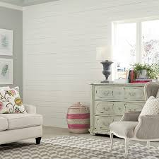 Accent Wall With White Shiplap