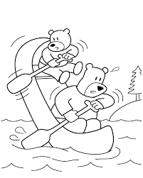 Cartoon Coloring In Pages