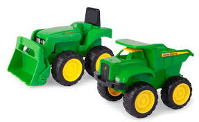 100 John Deere Toy Trucks Mini Sandbox Tractor And Dump Truck Set 15cm