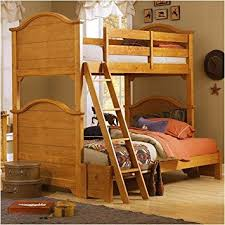 Vaughan Bassett Ellington Dresser by Amazon Com Vaughan Bassett Bb20 Series Cottage Bunk Bed In Pine Baby