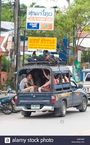 100 Pick Up Truck Song Travellers And Backpackers Sit In The Back Of Pick Up Truck Tao