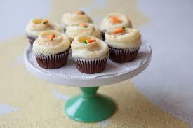mini carrot cupcake