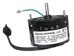 Nutone Bathroom Fan Motor 23405 by Nutone Exhaust Fan Motor Bathroom Kitchen Broan Blower Fan