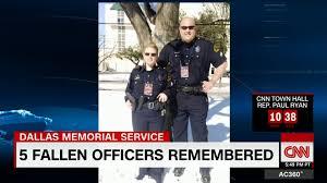 Widow of fallen Dallas officer He was a true warrior CNN Video