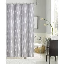 Boscovs Window Curtains by Dainty Home Morocco Fabric Shower Curtain Silver Boscov U0027s