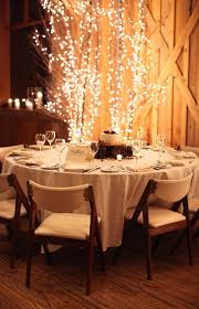 This Is Really Simple But I Like Some Of The Ideas And Simplicity Perfect Winter Wedding DecorationsWinter