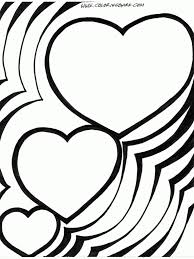 Heart Coloring Pages Outstanding Page Details Free In Hearts