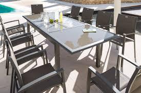 Awesome Salon De Jardin Hesperide Azua Noir Contemporary Awesome Table De Jardin Aluminium Hesperide Contemporary Amazing