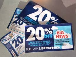 bed bath beyond may be discontinuing those 20 off coupons