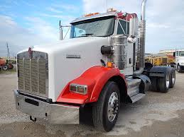 USED 2011 KENWORTH T800 DAY CAB TANDEM AXLE DAYCAB FOR SALE IN TX #2734