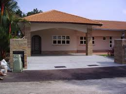 100 Bungalow Design Malaysia Single Storey Home Home Letter Sample