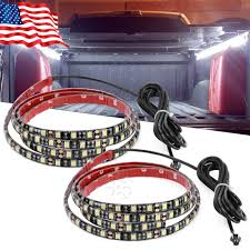 2X PURE WHITE Truck Cargo Bed LED Light Strip Kit For Chevy ... Truck Bed Lighting Kit 8 Modules Free Installation Accsories Cheap System Find Opt7 Aura 8pc Led Sound Activated Multi Lumen Trbpodblk 8pod Lights Ford F150 Where To Buy 12v White Light Strips For Cars Led Light Deals On Line At Aura Pod Multicolor With Remotes 042014 Rear Tailgate Emblem 2 Tow Hitch Cover White For Chevy Dodge Gmc Ledglow Installation Video Youtube 8pcs Rock Under Body Rgb Control