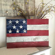 Rustic American Flag Pallet Sign By ThePolkaDottedGirl On Etsy