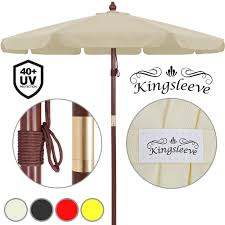 100 Wooden Parasols Details About 33m Garden Sun Parasol UVProtection 40 Patio Shade Umbrella Canopy