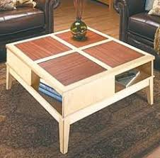 woodworking plans free coffee table