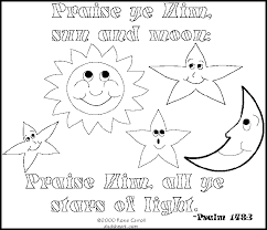 Trend Bible Coloring Pages For Kids With Verses