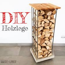 diy kaminholzregal selber bauen baue dir deine designmöbel