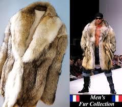 e fur rakuten global market sale in the men u0027s prairie wolf fur