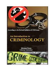 Criminology Notes Mohsin Raza