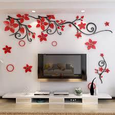 kreative acryl pflanzen rattan wand malerei wohnzimmer schlafzimmer home dekoration wand malerei buy wandmalerei designs für wohnzimmer 3d wand