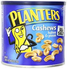 Planters Nuts 46oz Cashew Halves & Pieces $13 50 56 oz Mixed