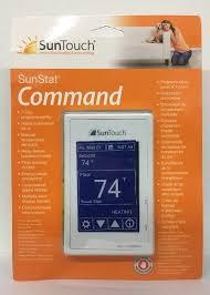 suntouch sunstat command 120 240v programmable floor heating