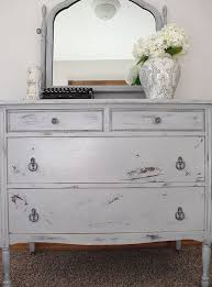 Layered Gray Dresser
