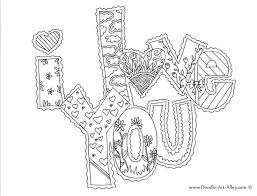 Doodle Art Alley Coloring Pages For My Little Budding Artist