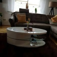 ovale aus glas tische stehtische fürs wohnzimmer günstig