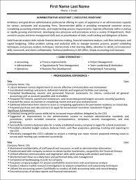Image Result For Senior Administrative Assistant Resume Sample