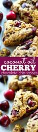 Easy Pumpkin Chocolate Chip Scones by Coconut Oil Cherry Chocolate Chip Scones