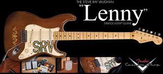 Stevie Ray Vaughn Lenny Strat