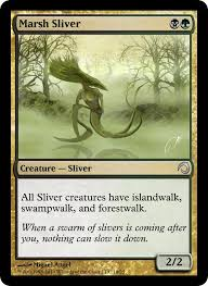Best Sliver Deck Mtg 2014 by Some Realistic Sliver Cards Custom Card Creation Magic