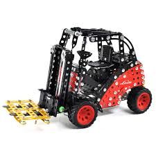 100 Toy Forklift Truck Linde Metal Tronico Construction Kit