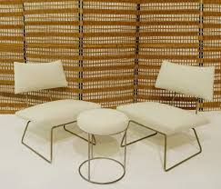 Set Of Lounge Chairs And Stool By Georges Coslin - Chairs ...