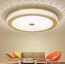großhandel moderne glanz k9 kristall led deckenleuchten wohnzimmer gold chrom metall dimmbare led deckenleuchte schlafzimmer led deckenleuchten llfa