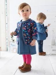 baby embroidered denim dress baby