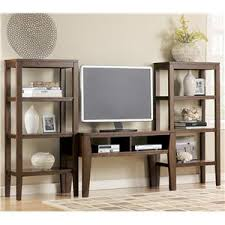 Signature Design by Ashley Deagan TV Stand Table with 2 Open Media