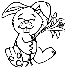 Full Image For Rabbids Invasion Coloring Pages Free Printable Of Bunny Rabbits Pictures