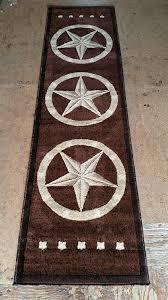 Amazon Texas Star Runner Area Rug Dark Brown Design 5457 2ftx7ft3in Kitchen Dining