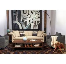 Cisco Brothers Sofa Slipcover by Radley Modern Classic Feather Down Silver Grey Linen Sofa 90