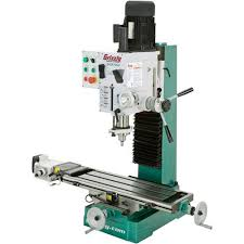 HeavyDuty Benchtop MillDrill With Power Feed And Tapping Grizzly