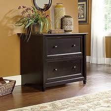 2 Drawer Lateral File Cabinet Walmart by Sauder Edge Water Estate Black File Cabinet 409044 The Home Depot