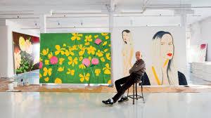 100 Art Studio Loft Look Inside Ist Alex Katzs Eccentric Industrial In