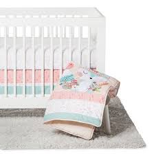 Trend Lab 3pc Crib Bedding Set Wild Forever Tar