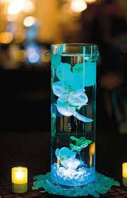 décoration thème bleu aqua