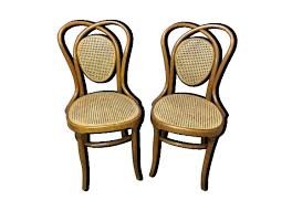 chaises thonet fischel chaise paire de chaises bistrot fischel dlg thonet