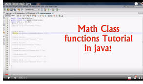 Math Ceil Floor Java by Java Programming How To Use Math Class Functions Or Methods