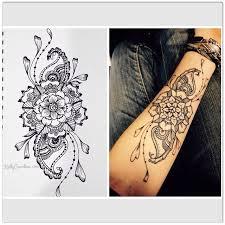 58 best Tattoo Designs Mandala & Flower Tattoos Henna Tattoos